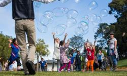 Bubble Fun with Mike Ashe, the SF Bubble Guy
