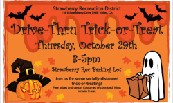 Strawberry Recreation Drive-Thru Trick-or-Treat