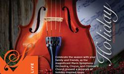 Marin Symphony for Holiday Pops Concert, Marin Center, San Rafael
