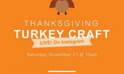 Thanksgiving Turkey Craft with Marin County Parks
