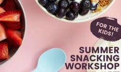 Miniware summer snacking workshop at Nordstrom Corte Madera