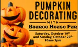 Pumpkin Decorating with Bounce House Fun–United Markets