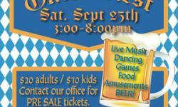 Oktoberfest, Tam Valley Community Center