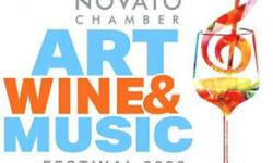 Novato Festival of Art, Wine & Music, Downtown Novato, 2020