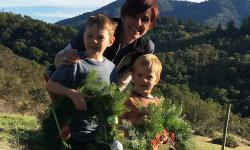Habitat Restoration & Holiday Wreath Making Workshop on Mt Tam