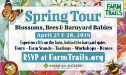 Spring Tour: Blossoms, Bees & Barnyard Babies