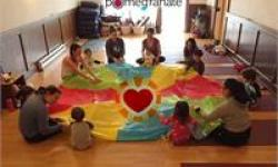 Wee Yogis Family Yoga at Pomegranate Yoga