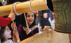 34th Annual Japanese New Year Bell-Ringing Ceremony for families, Asian Art Museum