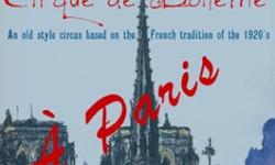 Cirque de Bohème presents A Paris!