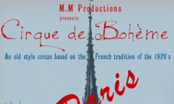Cirque de Bohème presents A Paris!, Cornerstone Sonoma