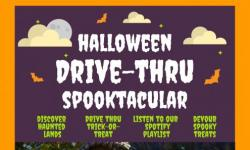 Halloween drive thru spectacular