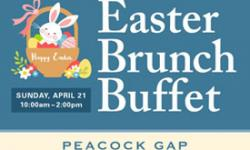 Easter Brunch Buffet at Peacock Gap