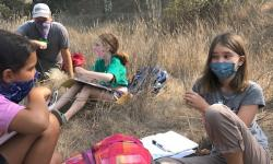 Writers Workshop out in Tennessee Valley - A great outdoor classroom!