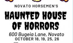Horsemen Haunted House flier