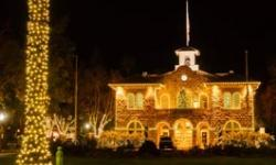 Lighting of the Sonoma Plaza 2019