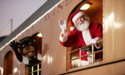 Santa Train–Napa Valley Wine Train
