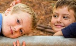 kids enjoying nature