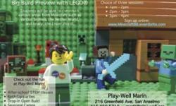 Build the Largest LEGO® Minecraft World in California