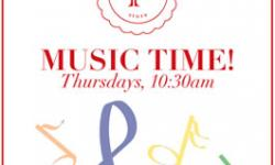 Music Time! at Poppy Store, Marin Country Mart