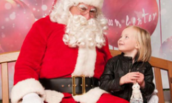 Santa photos in Marin