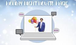 Virtual magic show novato