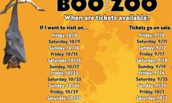 Boo at the Zoo, Oakland Zoo
