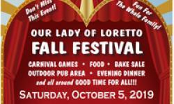 Our Lady of Loretto Fall Festival, Novato