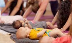 Mom & Baby Yoga, Pomegranate, San Anselmo