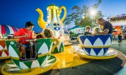 popup carnival at Sonoma-Marin Fairgrounds
