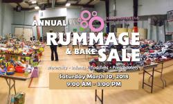 Giant Rummage Sale with Kids and Mom's stuff