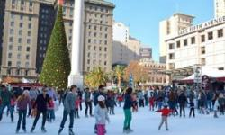 Union Square Ice Rink, San Francisco