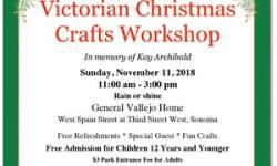 29th Annual Victorian Christmas Crafts Workshop