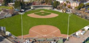 Ablert Park baseball field San Rafael