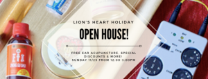Lion's Heart Holiday Open House