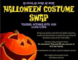 Halloween Costume Swap 2019, Tam Valley Community Center