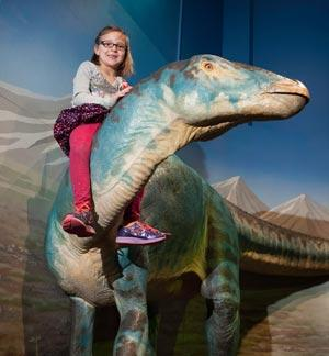 Dinosaurs: Land of Fire and Ice at Bay Area Discovery Museum