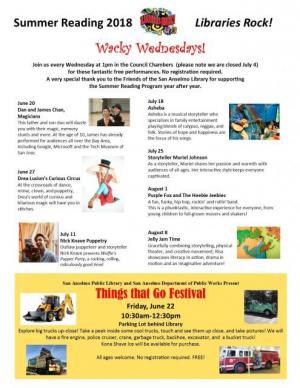 Wacky Wednesdays! San Anselmo Library