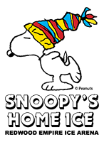 Pictures with Snoopy! Snoopy's Home Ice, Santa Rosa