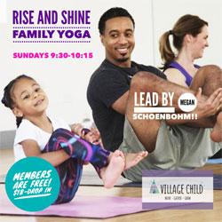 Rise and Shine Family Yoga, Village Child, Novato