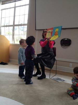 Storytime with Molly at Sausalito Library