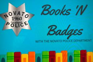Books 'N Badges with the Novato Police Department