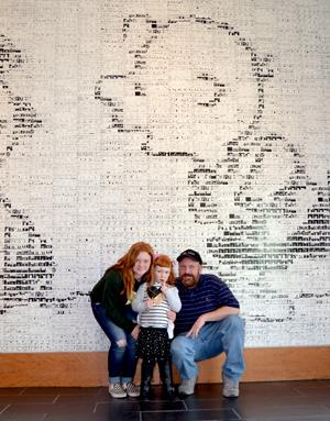Little Red-Haired Girls Day, Charles M. Schulz Museum, Santa Rosa