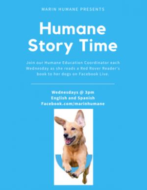 Virtual Humane Storytime, Marin Humane
