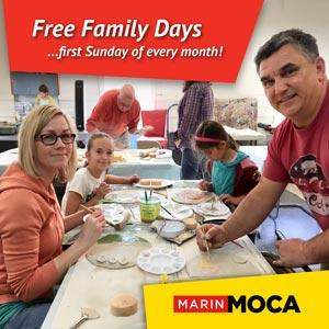 Marin MOCA Family Days