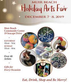 Muir Beach Holiday Arts Fair 2019