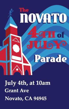 Novato 4th of July Parade 2020