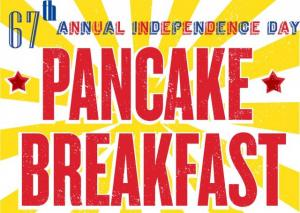 Annual Independence Day Pancake Breakfast