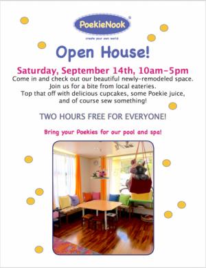 Poekie Nook Open House