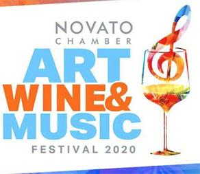 Novato Festival of Art, Wine & Music, Downtown Novato, 2020