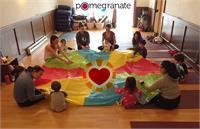 Wee Yogis Family Yoga at Pomegranate Yoga